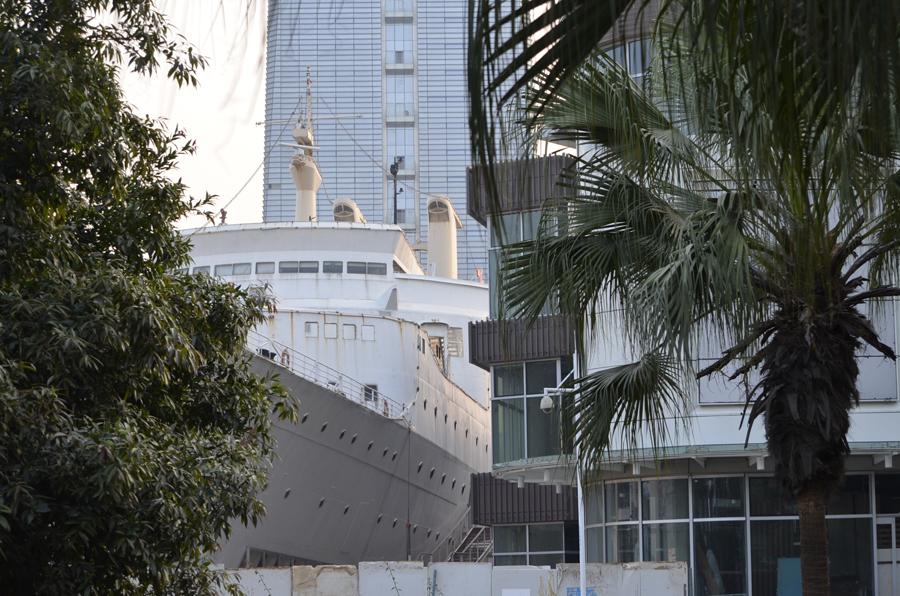 Ming Hua ship in Shekou, Shenzhen